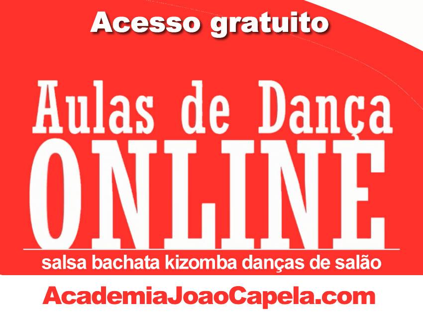 Aulas de Dança Online - Bachata Salsa Kizomba Danças de Salão