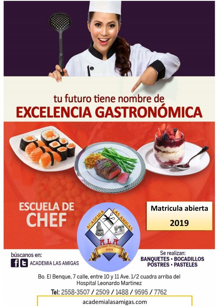anuncio chef 2019