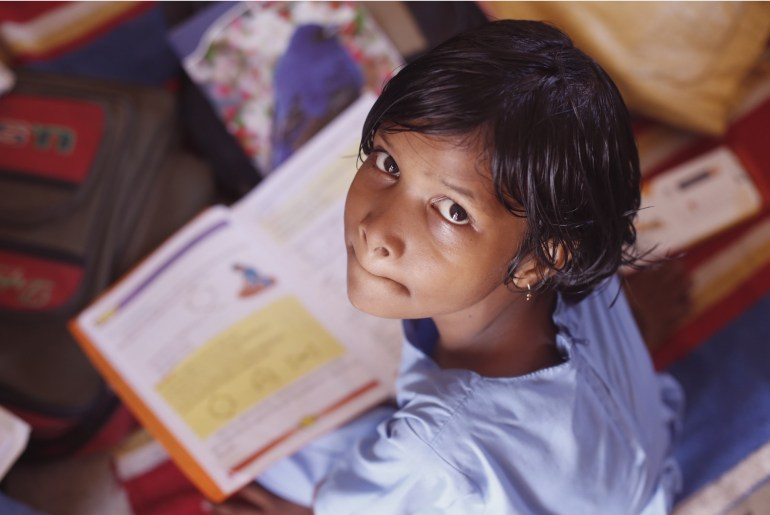 Girl in school: World Bank warns against education without learning