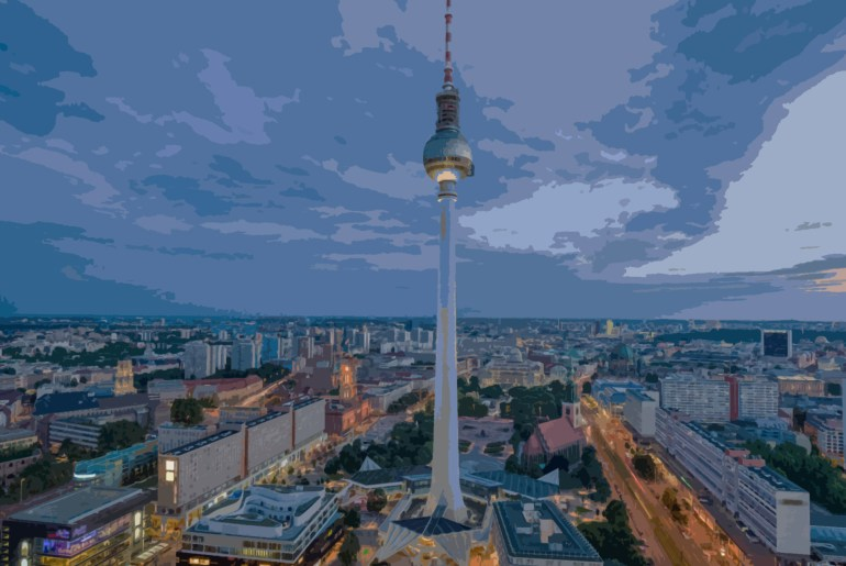 DAAD Scholarship Programme: Berlin Skyline