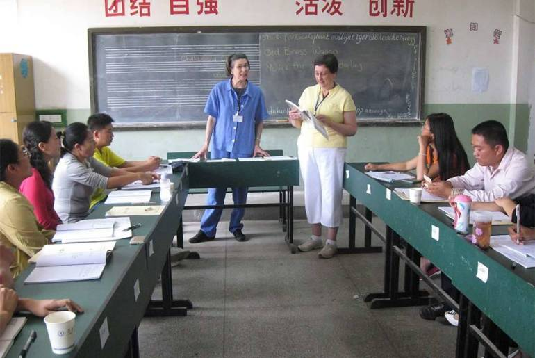 Teachers in China