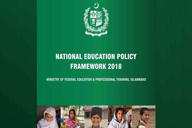 National Education Policy Framework 2018