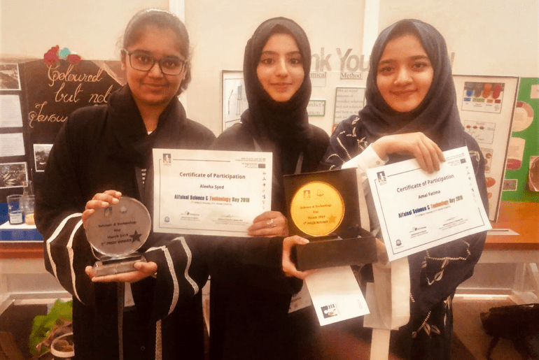 Pakistani Students Shine At AlFaisal