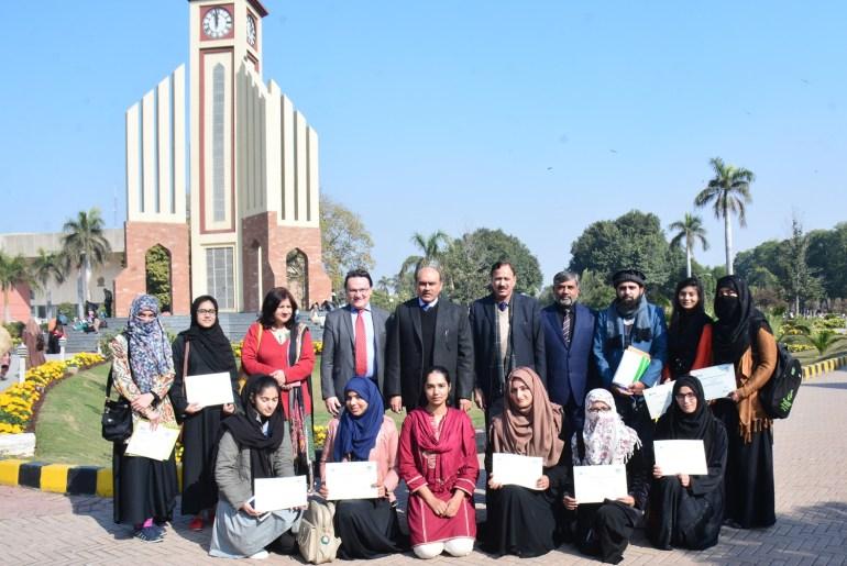 19 UAF Students Awarded Pakistan Scottish Scholarship