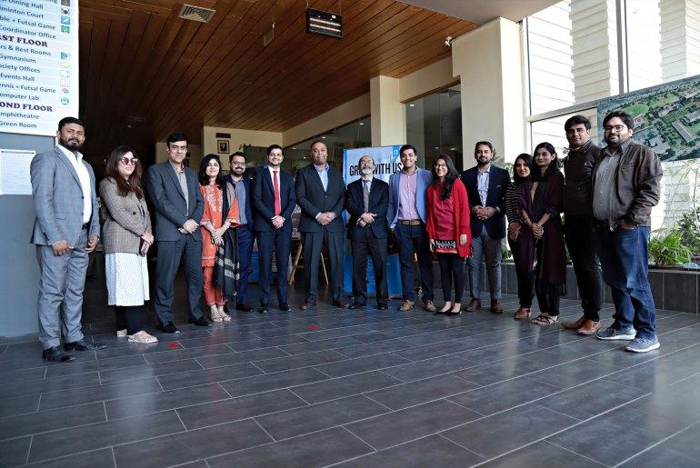 Neilsen Academy at IBA Karachi.