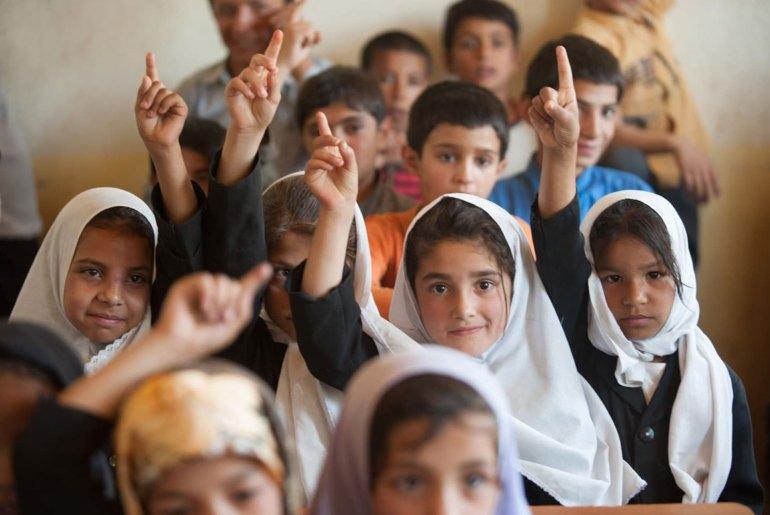 Poorest Girls Have Never Been In School