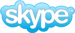 Icono Skype largo