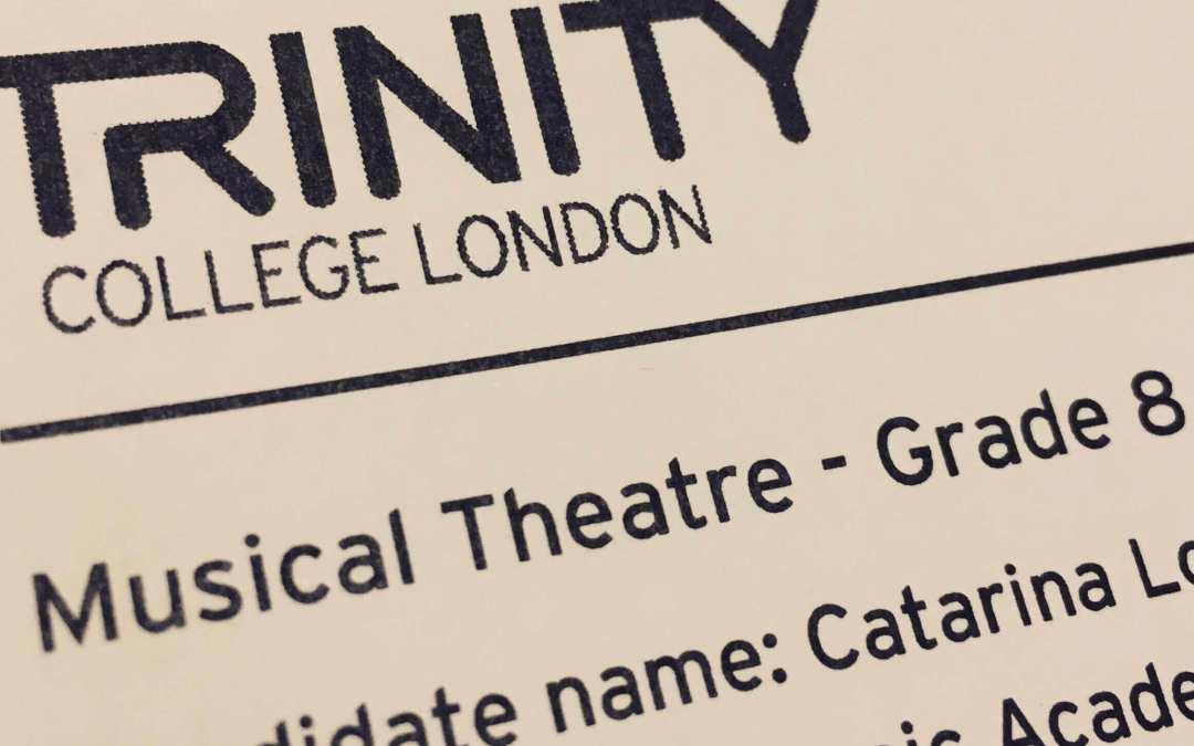 Exames internacionais em Teatro Musical