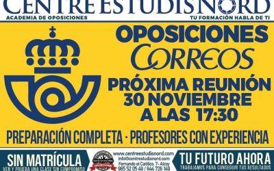 Nuevo Grupo Preparación Oposiciones Correos