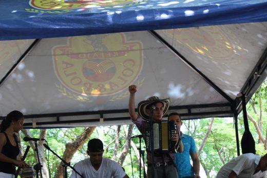Daniel Rocha en el Festival Vallenato 2017