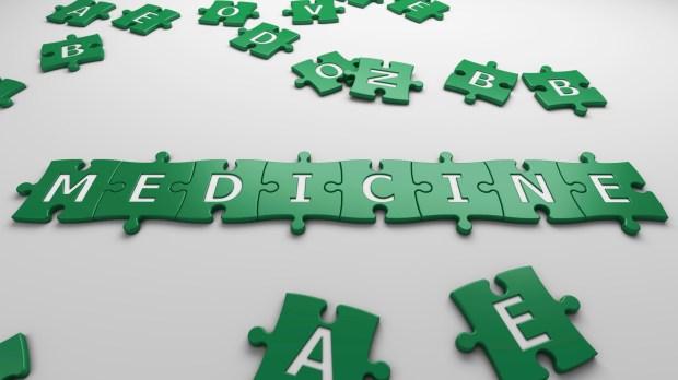 medicine puzzle pieces