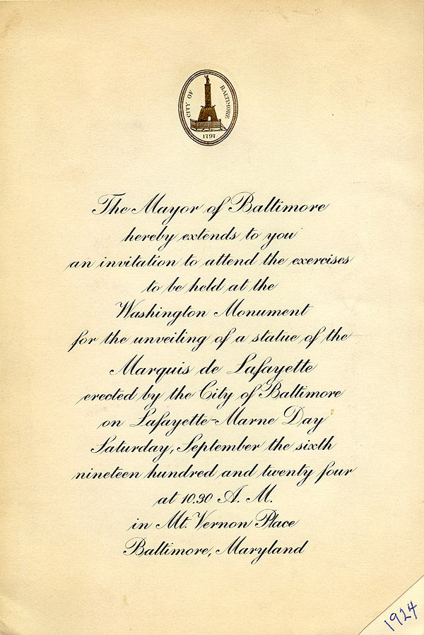Marquis De Lafayette Collections Memorabilia
