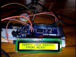 How to Say Happy New Month Using Arduino Micro­controller
