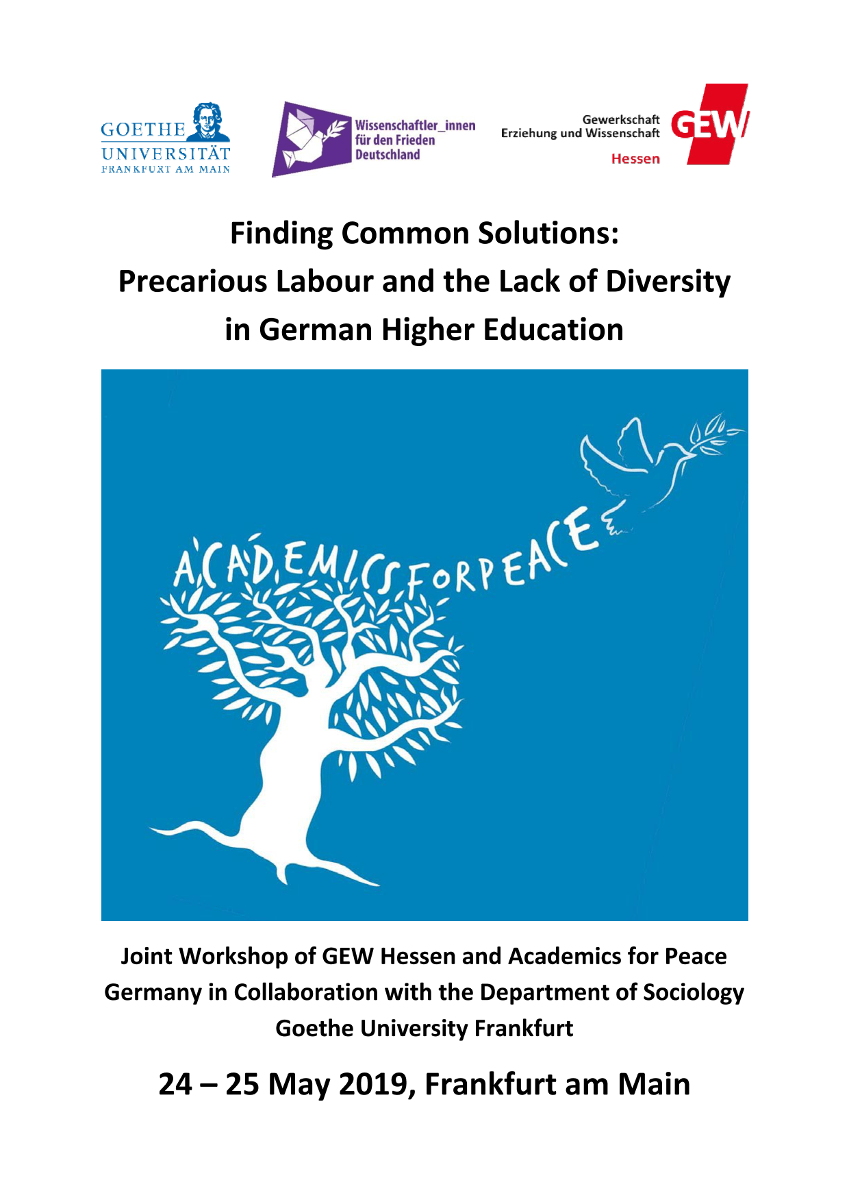 Finding Common Solutions: Precarious Labour and the Lack of Diversity in German Higher Education
