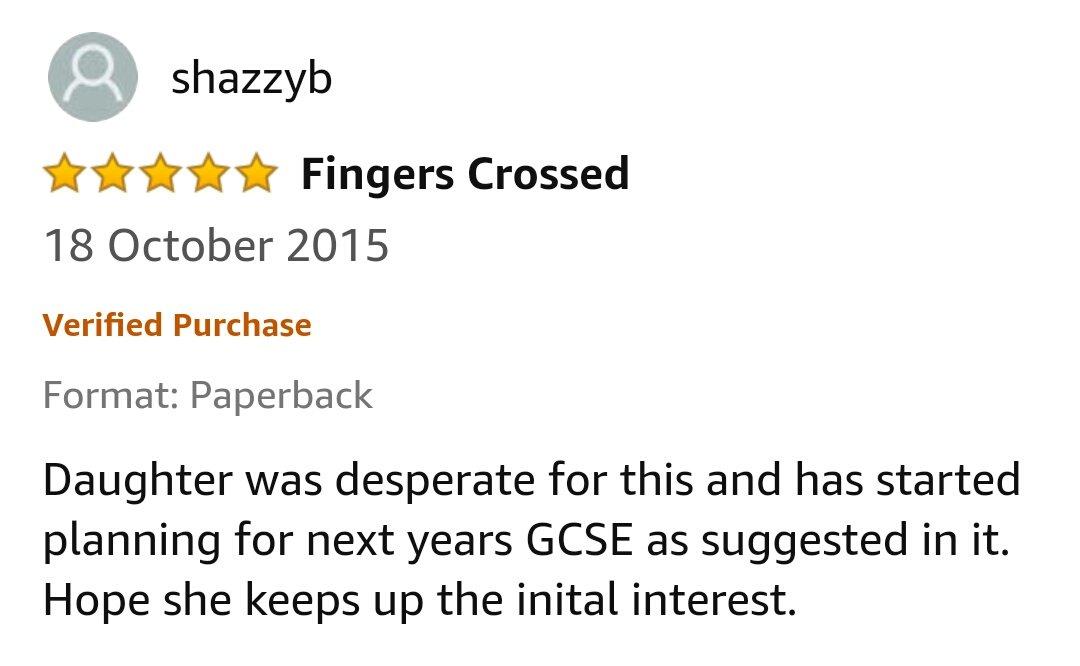 GCSE Reviews 16
