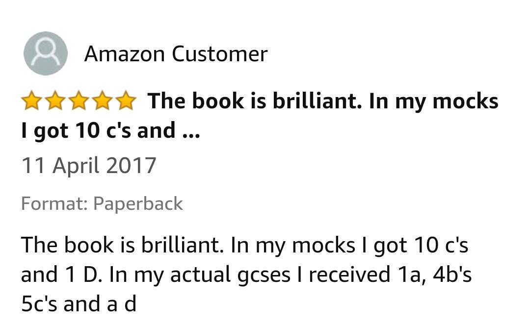 GCSE Reviews 86