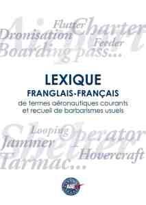 Lexique franglais-français de termes aéronautiques courants