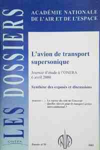 Dossier n°19 - L'avion de transport supersonique