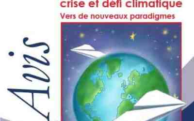 Avis n°13 sur « Transport aérien en crise et défi climatique ; vers de nouveaux paradigmes »