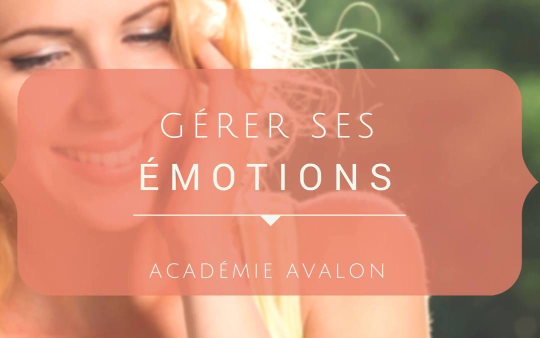 Cours de Gestion des émotions
