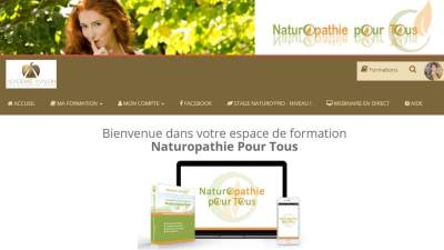 Naturopathie Pour Tous - Formation e-learning accueil