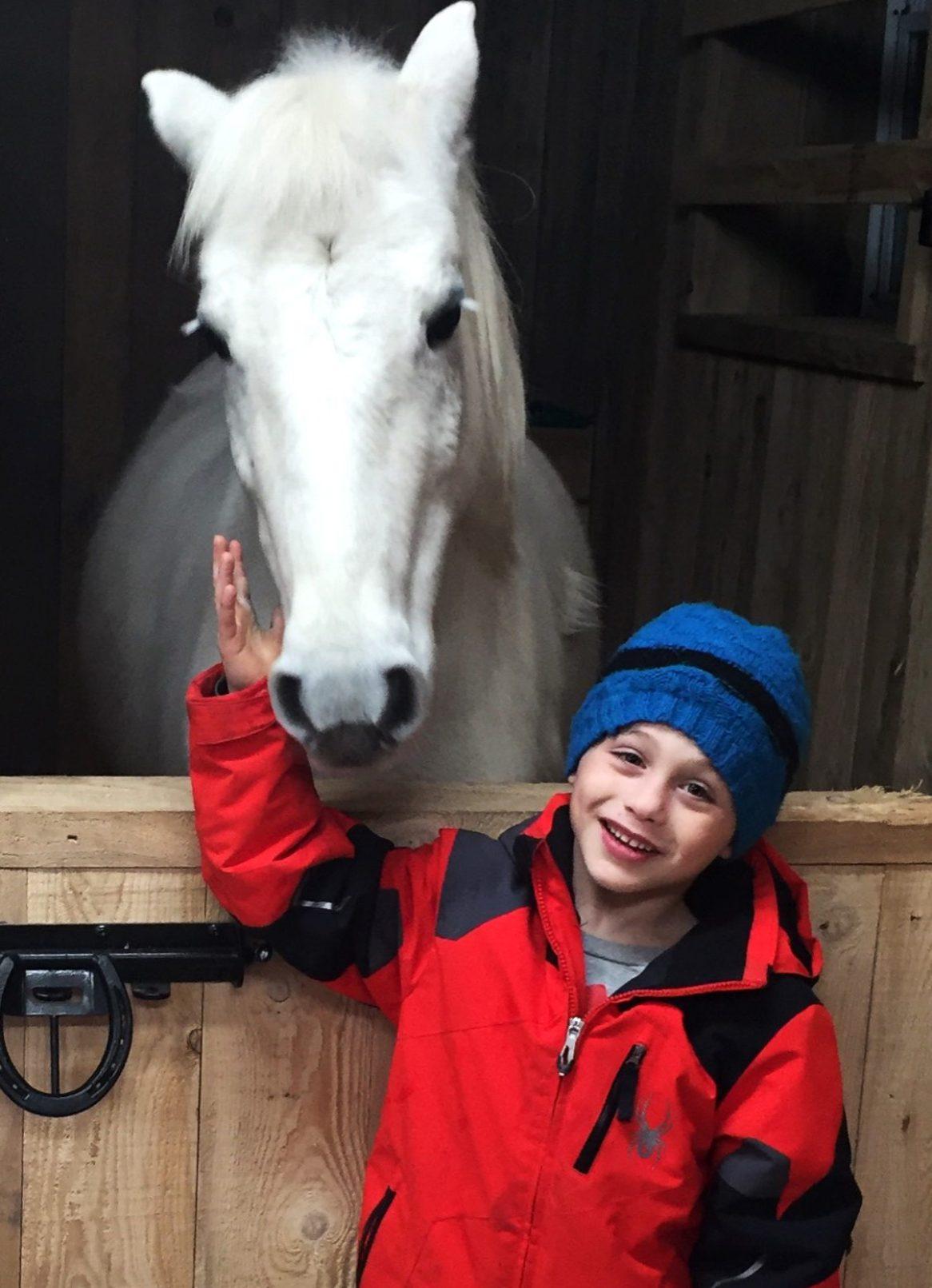 Fête d'enfants originale à cheval en Montérégie