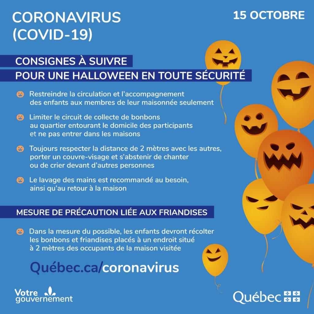 Conseils Covid Halloween