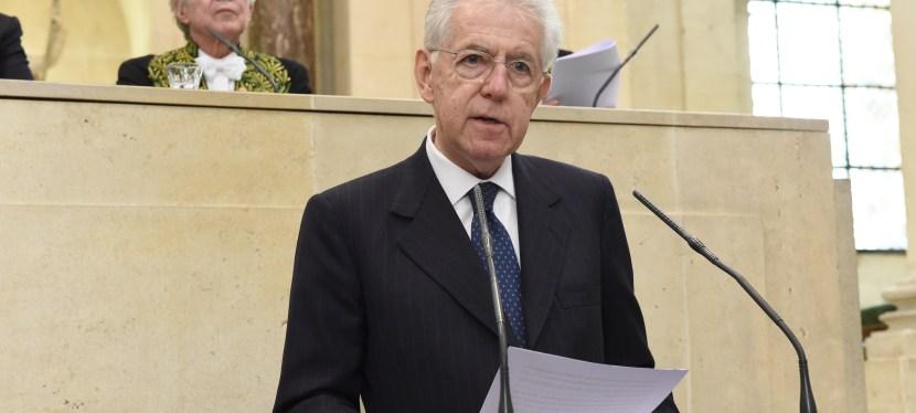 [26 novembre 2018] Mario Monti, «L'Union européenne face aux nationalismes : réflexions d'un Européen d'Italie»