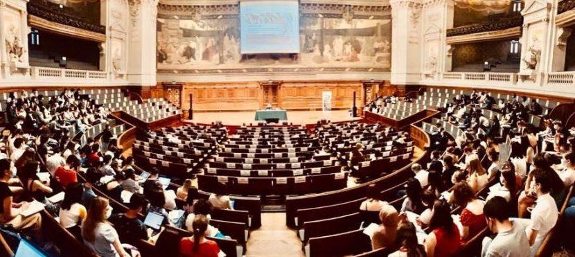 Des académiciens en Sorbonne avec … Claudine Tiercelin :  La liberté de penser