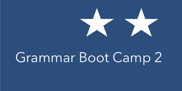 Grammar Boot Camp 2 course image