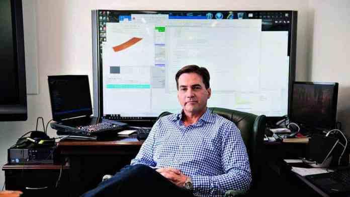 Craig S. Wright en su oficina