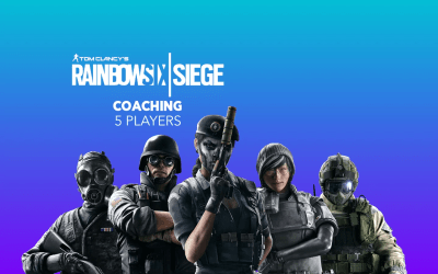 Live Coaching para equipos (5 Players) Rainbow Six Siege para eSports by Ziqma