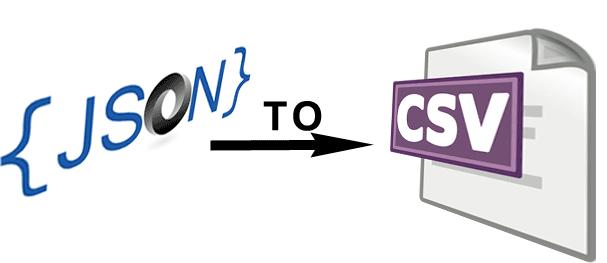 Cómo pasar datos JSON a CSV