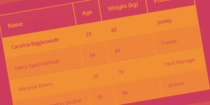 Construyendo una tabla dinámica con PHP, MySQL, DataTables y Ajax
