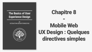 Mobile Web UX Design : Quelques directives simples