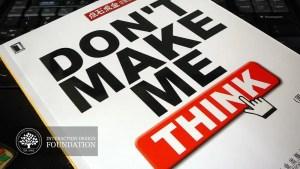 Don't Make Me Think – Principaux points d'apprentissage pour le design UX pour le web