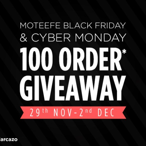 Black Friday & Cyber Monday Giveaway