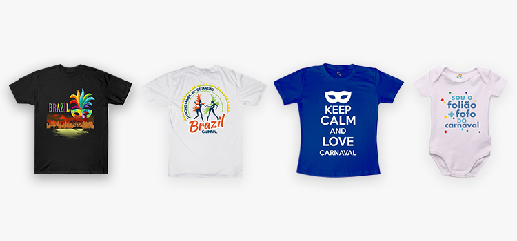 Carnival design ideas: T-shirts and babygrow examples