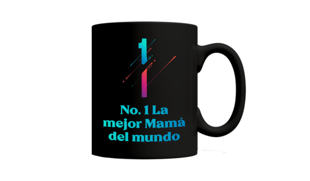 Mother's Day Presents: mug with custom text in Spanish
