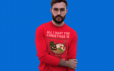 The Good, The Bad, The Ugly Christmas Sweater