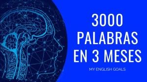 Aprende 3000 palabras de inglés en 3 meses de forma permanente