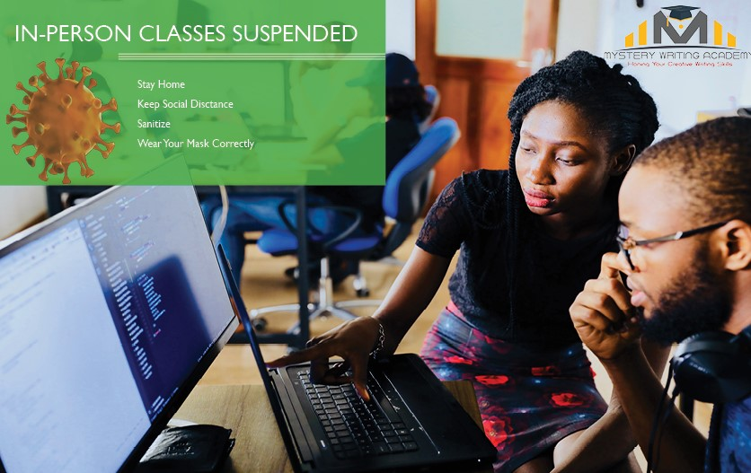 In-Person Classes Suspended – Covid-19 Updates