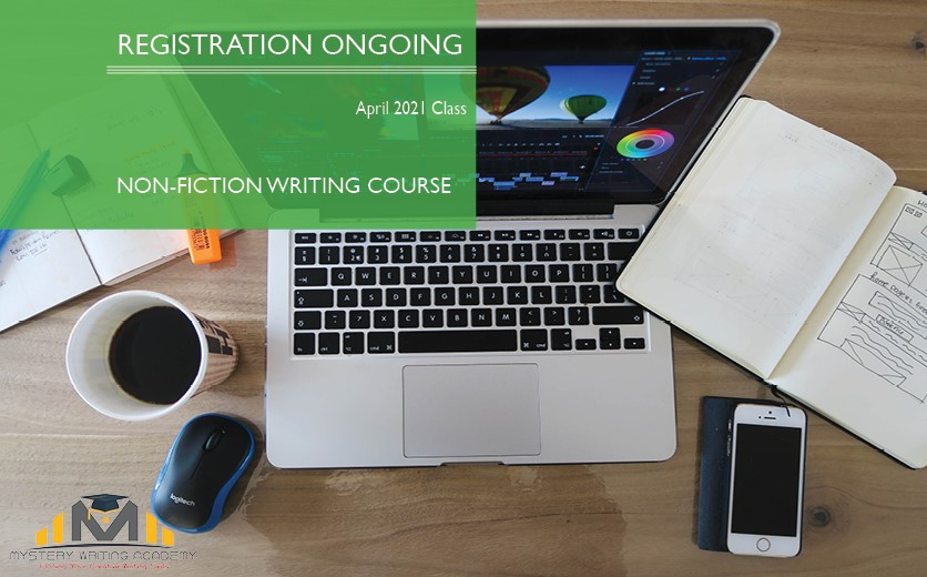 Register For April 2021 Non-Fiction Writing Class