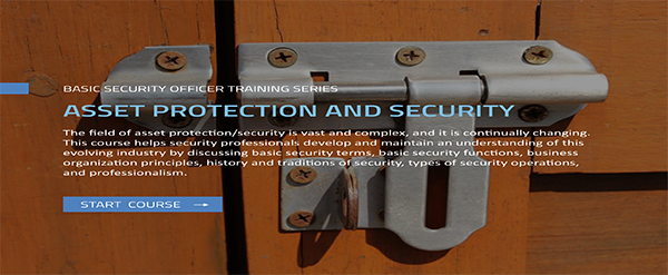 BSOTS: Asset Protection and Security course image