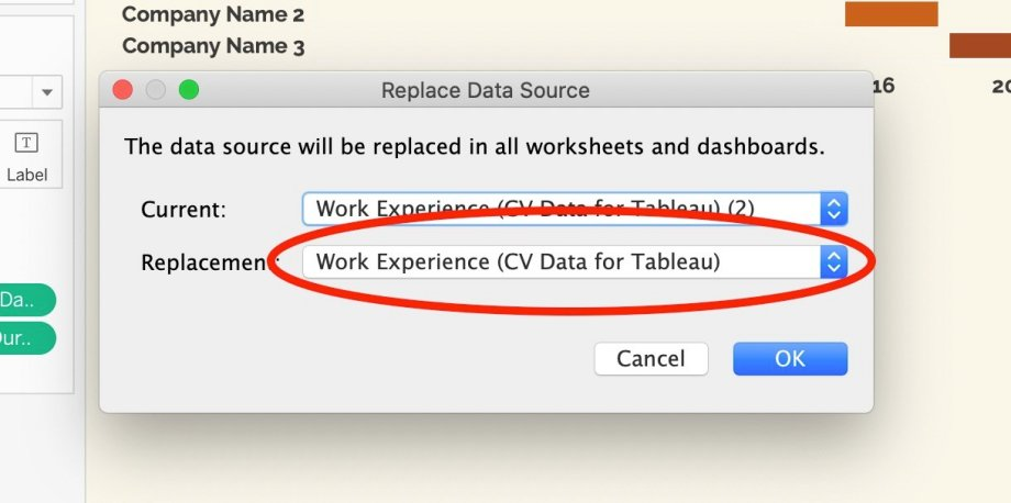 Free Tableau Sales Resume Template Download - select replacement data