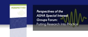 Perspectives Forum: Putting Research Into Practice: Tutorials on Clinical Research, Implementation Science, and Evidence-Based Practice