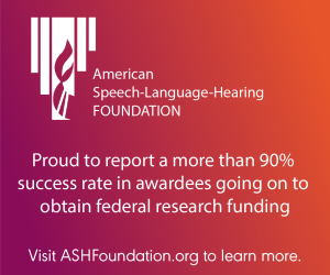 The ASH Foundation is proud to report an over 90% success rate in awardees going on to obtain federal research funding