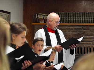 All ages and abilities welcome at St. Andrew's Choir Camp.
