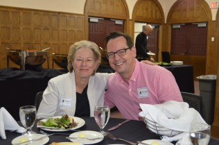 From l to r: Susan Assouline, director and David Gould, administrator Bucksbaum Academy