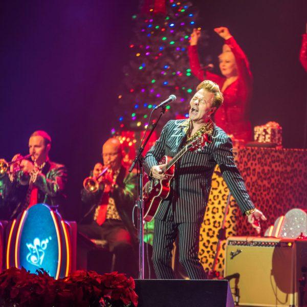 Brian Setzer Orchestra's Christmas Rocks! Tour